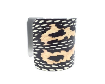 Snakeskin Bracelet - Statement Bracelet - Snake Jewelry - 1980s Style - Gift for Her - Snakeskin Cuff - Snake Bracelet - Girlfriend Gift