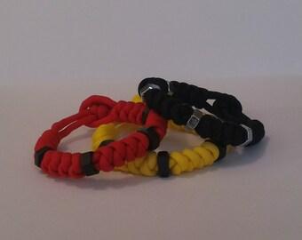 "Industrial ""snake"" bracelet"