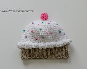 Adult Cupcake Hat, Beanies