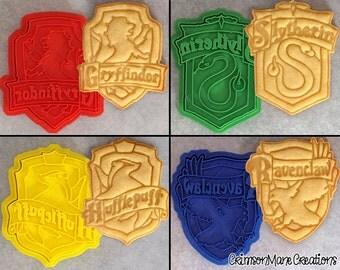 Harry Potter Hogwarts House Crests Cookie Cutter Set