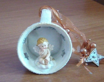 Decorative Cup with Angel