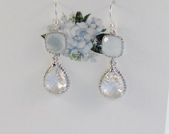Gardenia Earrings,Moonstone EArrings,Moonstone Jewelry,Gardenia Wedding,Boho Wedding,Moonstone Bridesmaid,White Jewelry,White Wedding,