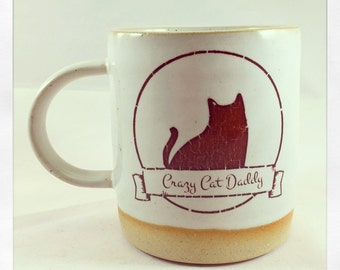 Crazy Cat Daddy Mug