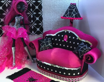 Furniture for Barbie Doll Monster High