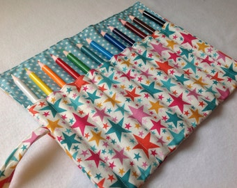 Stars Pencil Roll