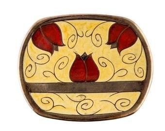 Ceramic fruit plate, large fruit bowl, Fruit Platter, serving platter, ceramic plate, decorative bowl, serving tray, Large Platter, K