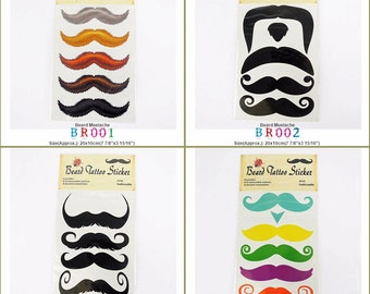 Excellent Fake Mustache Etsy Hairstyles For Women Draintrainus