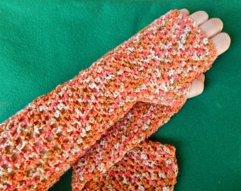fingerless long gloves,crochet,crochet gloves