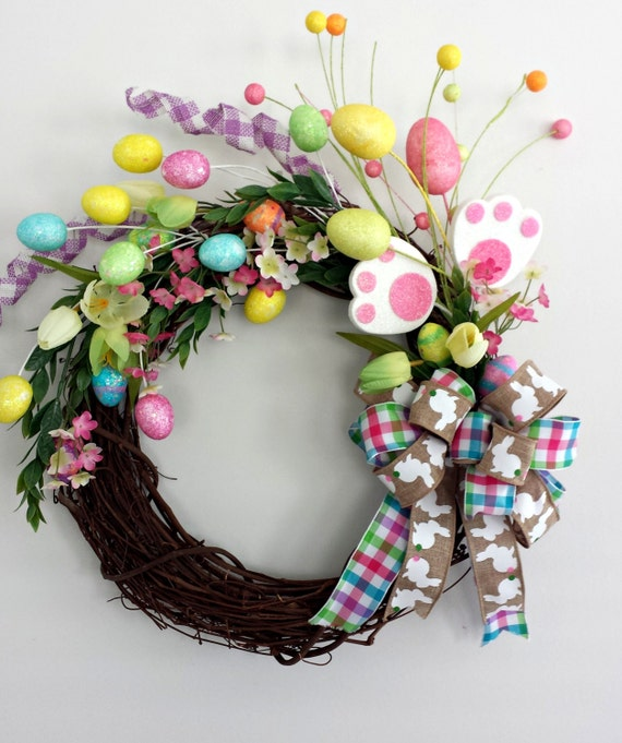 Easter Easter Wreath Easter Decor Happy Easter Easter