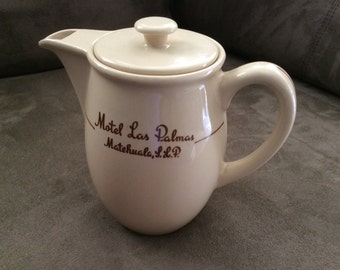 Tea Pot, small, from Motel Las Palmas, Mexico