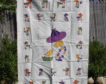 Wash Tub Fabric Panel