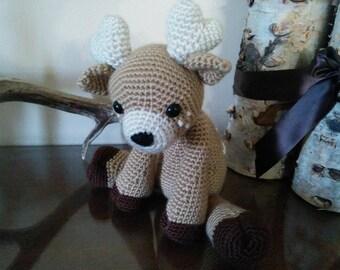 Handmade Crochet Deer