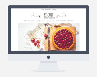 Biscuit  - Food and Recipe Wordpress Theme - V.2.0.2 - Woocommerce - Premade - Self Hosted - Wordpress Blog Theme - Responsive