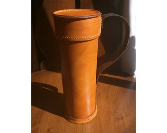 Leather Map Case, Customizable & Perfect for Notes, Maps, etc