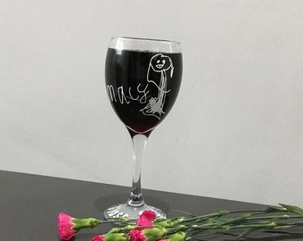 Doodle Glass