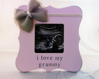 Grandparents day gift for grandma grandpa grandparent to be frame