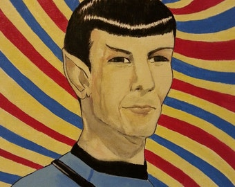 Mr. Spock painting