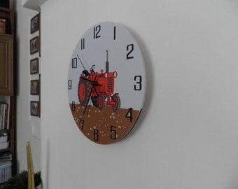 Wallclock for children room, nurcery decor, office wall clock, , modern wall clock,