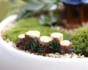 Fairy Root Bridge, Garden Path, Garden Gnome, Miniature Fairy, Miniature Garden Decor, Miniature Terrarium, Fairy Garden