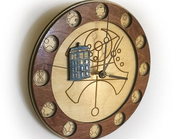 Doctor Who Gallifreyan Clock