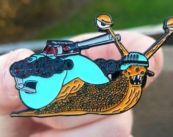 Battle Snail Hat Pin!