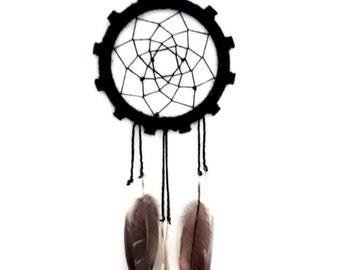 DreamCatcher | Black, hippie, wall decoration, tough, gift, engine
