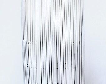 WHITE FRINGE LEATHER belt long white leather fringe belt, fringe skirt, fringe cuir.