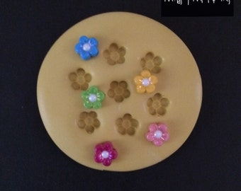 Tiny Flowers Silicone Mold