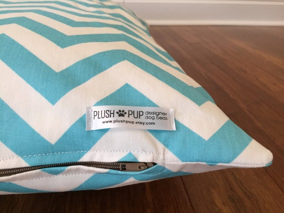 Chevron Dog Bed Cover Blue Dog Bed Cover Blue Chevron By