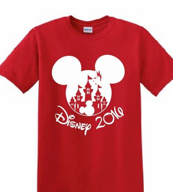 Disney customized printed t shirt mickey mouse by for Printed t shirts for family reunion