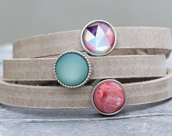 Leather bracelet - Serenity