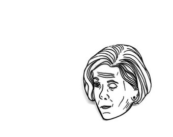 Lucille Bluth Pin