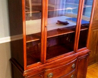 China Cabinet Hutch - Can be custom painted