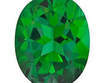 Swarovski Gemstones Rainforest Green Natural Topaz Gemstone OVAL Shape, AAA Flawless, Jewelry Making