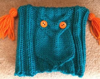 Oscar the Owl Toddler Hat