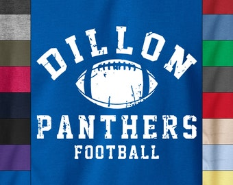DILLON PANTHERS Football Soft Ringspun Cotton T-Shirt Texas Friday Night Lights