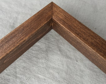 Versa Frame For Canvas, Picture, or Panel - Handcrafted + Hardwood Picture Frame + Custom Size and Depth Requests Welcome!