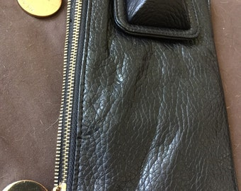 Vintage Deux Luxe Leather Bag Clutch