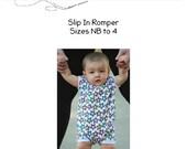 AimerLae & Finn Slip In Romper PDF PATTERN