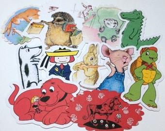 Large Storybook Die Cuts,Cut Outs,Scrapbooking,Scrapbook Supplies,Scrapbooking Die Cuts,Children's Books Die Cuts,Version 3,Storybook Shower