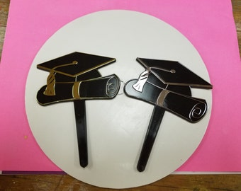 Graduation Caps Cake Toppers (Large)