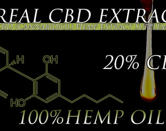 60 Grams of CBD Oil Extracted From Organic Hemp 20% CBD Oil 50 Percent Off While Supplies Last