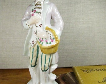 French Colonial Man Figurine