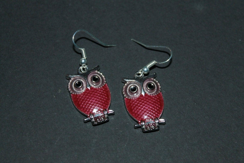 owl dangles owl earrings owls owl accessories owl jewelry