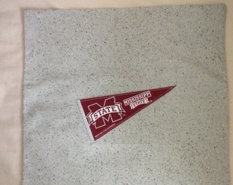 "Mississippi State 16""X16"" Pillow Case/Cover"