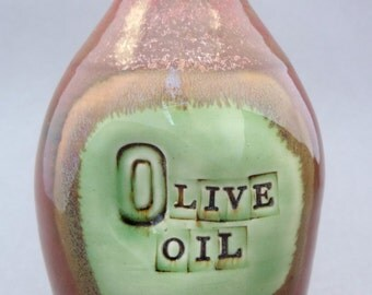 Oil Bottle, Made to Order