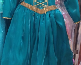 Princess Brave Princess Merida Costume  - Halloween Costume - Princess  Brave Princess Merida  Dress Costume Princess