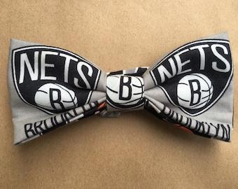 NBA Brooklyn Nets bow tie