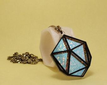 Icosahedron Necklace