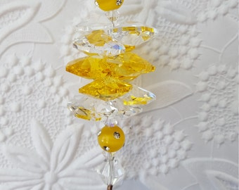 Yellow Suncatcher
